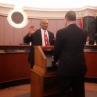 Reginald Finney took the oath of office on April 21 and will serve District 2 in Richmond Heights.
