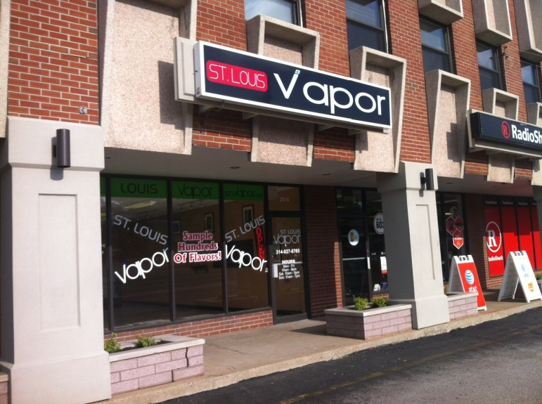 Electronic cigarette vape shop