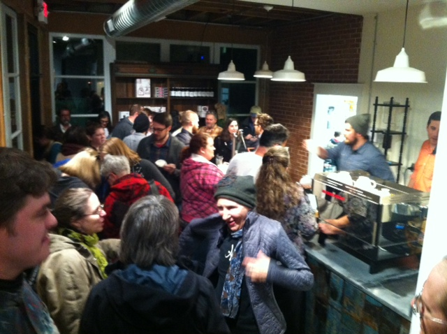 Living Room Coffee Bake Shop Opens On Sutton