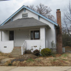 8833 Powell Avenue, Brentwood MO, which was demolished on October 2014.