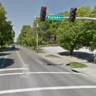 A Brentwood woman was killed crossing the crosswalk by Olympia Kabob House Sunday.