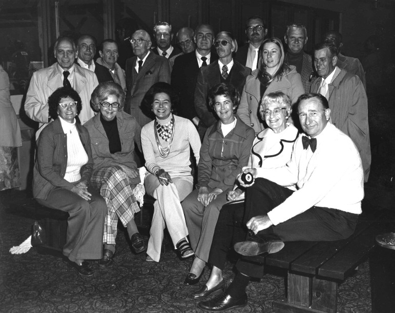 Dottie Higginbotham, a long time Brentwood resident and city employee died July 17. Dottie is in the front row, second from the left.