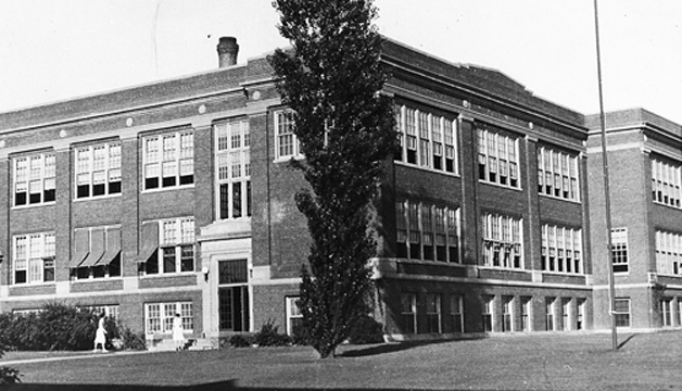 Here it is. It was Maplewood's first hgih school and then later was used as a junior high. Demolished in the 1970's, I believe. The aforementioned Larry Giles of the National Building arts Museum was foreman on the job is I remember correctly.